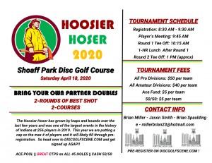 2020 Hoosier Hoser Doubles graphic