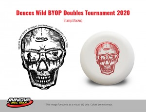 Deuces Wild BYOP Doubles - Driven by Innova graphic