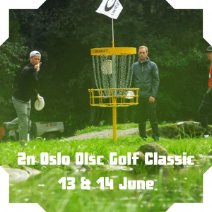 Dynamic Discs 2nd annual Oslo Disc Golf Classic presented by NBDG graphic