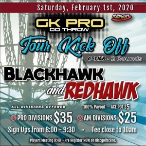 GKPRO Tour kick off - Mohawk graphic