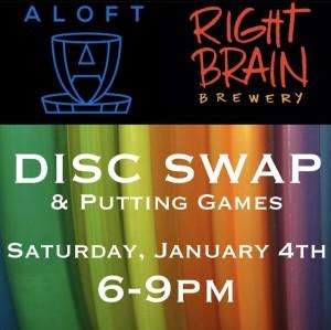 Aloft x RBB Disc Swap Putt Dubs graphic