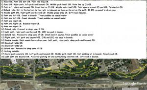GSDGC Winter Series #8 Kuna Disc Golf Course graphic