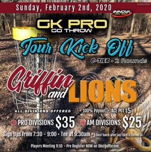 GKPRO Tour kick off - Griffin/Lions graphic