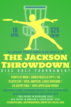The Jackson Throwdown graphic