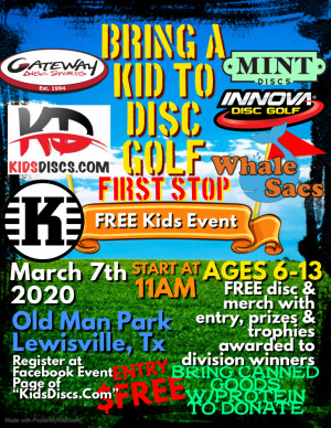 KidsDiscs.Com FREE Kids Tournament graphic