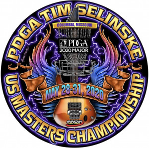 2020 PDGA Tim Selinske U.S. Masters Championships graphic