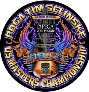 2021 PDGA Tim Selinske U.S. Masters Championships presented by Innova graphic