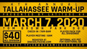 4th Annual Tallahassee Warm Up presented by Latitude 64 graphic