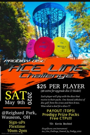 Ace Line Challenge Powered by Prodigy graphic