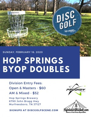 Hop Springs BYOP Doubles graphic