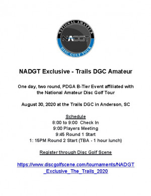 NADGT Exclusive - The Trails graphic