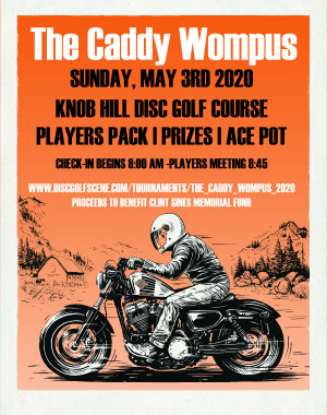 The CaddyWompus(Fundraiser) - Powered by Prodigy (Players Pack Pickup) graphic