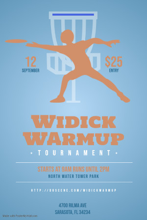 Widick Warmup - North Watertower Park graphic