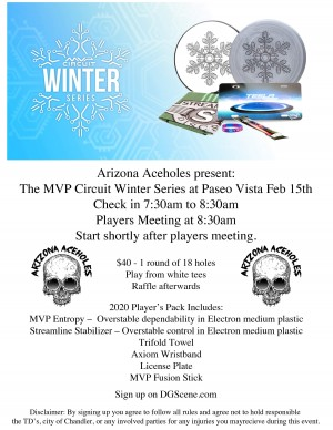 Aceholes Winter series graphic