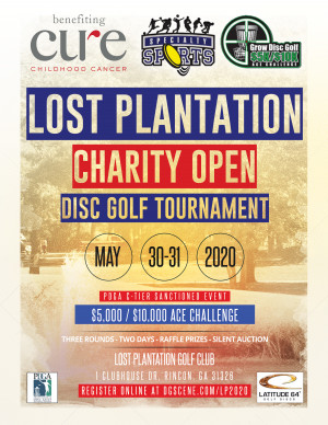 Lost Plantation Charity Open Presented by Latitude 64 (GDG $5K/$10K event) graphic