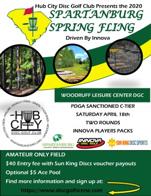 Spartanburg Spring Fling Driven by Innova graphic