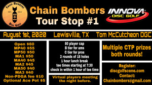 Chain Bombers Tour Stop #1 - Lewisville graphic