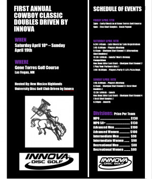 First Annual NMHU Cowboy Classic Driven By Innova graphic