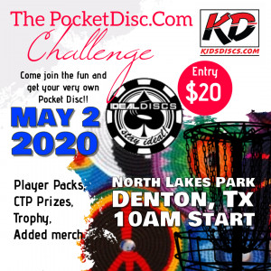 The PocketDisc.Com Challenge graphic