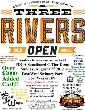 28th Three Rivers Open graphic