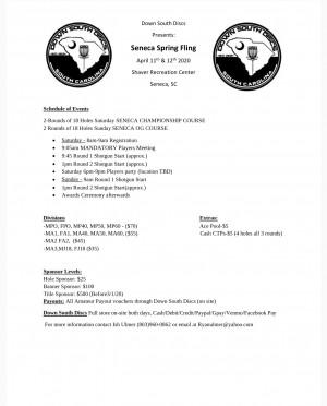 Seneca Spring Fling graphic
