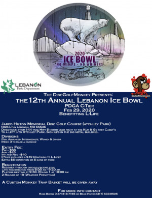 12th Annual Lebanon Ice Bowl graphic