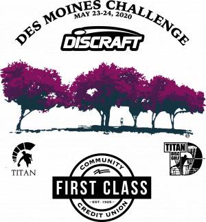 Des Moines Challenge 2020 graphic