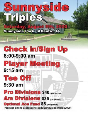 Sunnyside Triples 2020 graphic