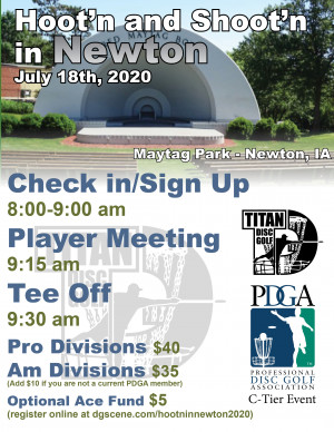 Hoot'n and Shoot'n in Newton 2020 graphic