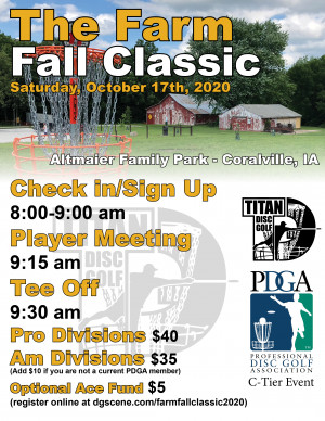 Farm Fall Classic 2020 graphic