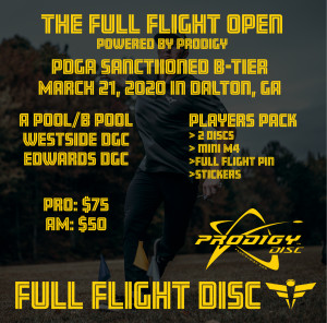 The Full Flight Open powered by Prodigy graphic
