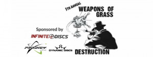 5th Annual Weapons of Grass Destruction graphic