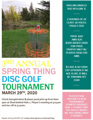 Spring Thing 3 - presented by Birdbrain DGC graphic