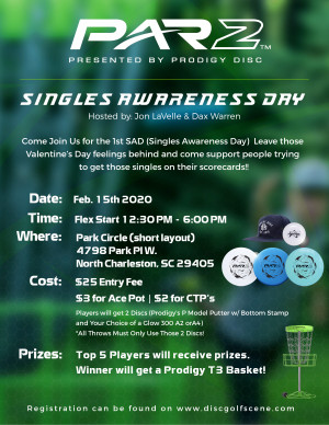 Singles Awareness Day PAR2 - Powered by Prodigy graphic