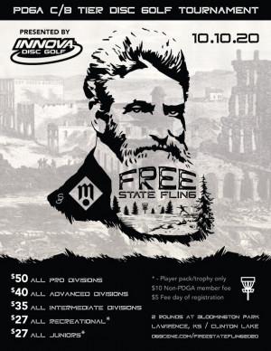 Maverick DG: Free State Fling 2020 presented by INNOVA graphic