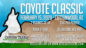 Coyote Classic- presented by Dynamic Discs graphic