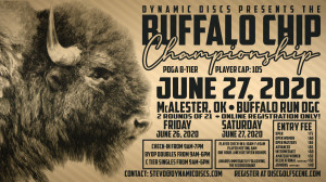 Dynamic Discs Presents the Buffalo Chip Championship graphic