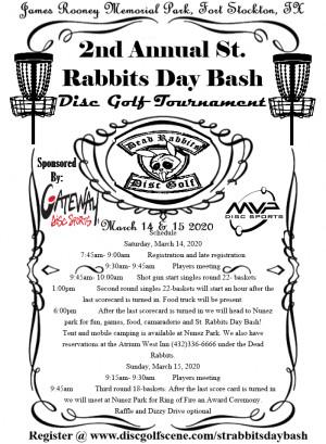 St. Rabbits Day Bash graphic
