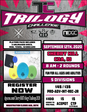 Cherry Hill Trilogy Challenge 2020 graphic