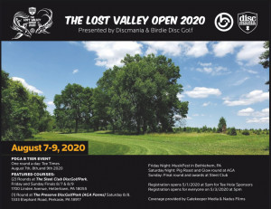 Lost Valley Open 2020 graphic