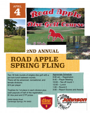 2nd Annual Road Apple Spring Fling graphic