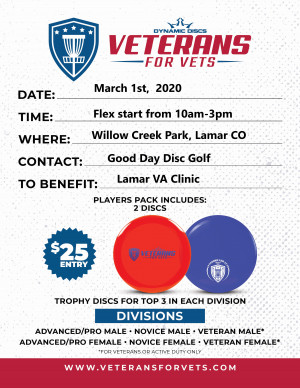 Veterans for Vets at Lamar, CO graphic