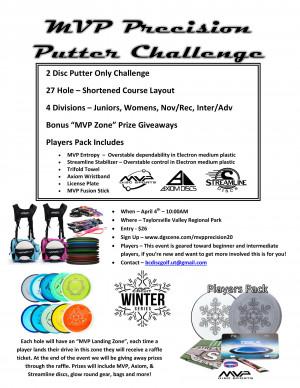 MVP Precision Putter Challenge graphic