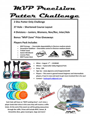 MVP Precision Putter Challenge graphic