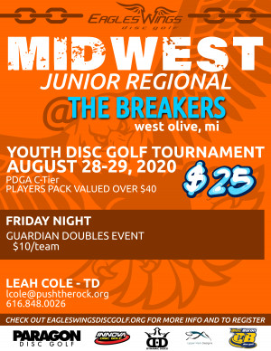 Eagles Wings JUNIOR Midwest Regional graphic