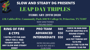Leap Day Triples graphic