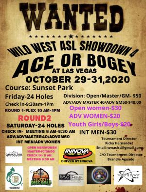 Wild West ASL Showdown 4 graphic