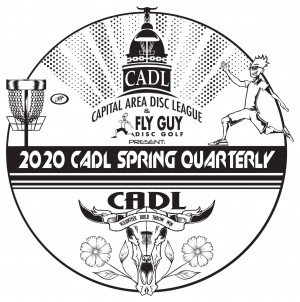 CADL Spring 2020 Quarterly hosted by Fly Guy Disc Golf graphic