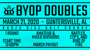 Whale Pants BYOP Doubles Presented by Dynamic Discs graphic