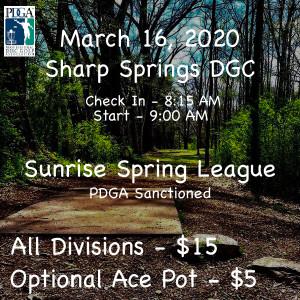 Sunrise Spring League Week 1 graphic